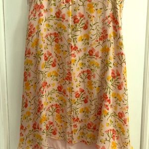 Liz Claiborne A line flare skirt
